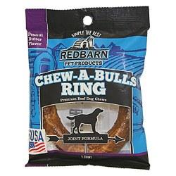 Chew-A-Bull Ring Peanut Butter