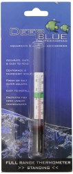 Deep Blue Standing Thermometer