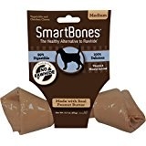 Smartbone Medium Single Peanut Butter Chew Rawhide Free