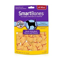 Smartbones Bacon And Cheese Mini 16 PackRawhide Free Dog Treats