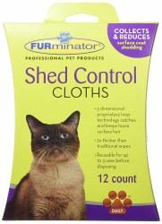 FURminator Shed Control Cloths 12 Pack