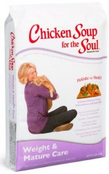 Chicken Soup for the Soul Weight and Mature Care Dry Cat Food 5lb