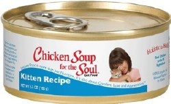 Chicken Soup for the Soul Kitten Recipe Canned Cat Food 5.5oz
