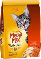 Meow Mix Tender Centers Salmon and White Meat Chicken Dry Cat Food 13.5lb