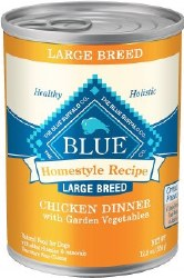 Blue Buffalo Homestyle Recipe Large Breed Chicken Dinner with Garden Vegetables Canned Dog Food 12.5oz
