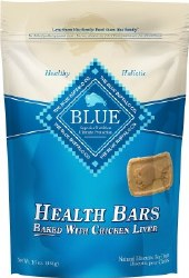 Blue Buffalo Health Bars Baked with Chicken Liver Dog Treats 16oz