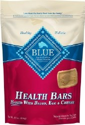 Blue Buffalo Health Bars Baked with Bacon Egg and Cheese Dog Treats 16oz