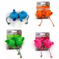 All For Paws Modern Cat Tinkly Twins Cat Toy 2 Pack