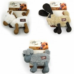 All For Paws Lamb Cuddle Animals Assorted Dog Toy