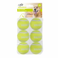 All For Paws Interactives Hyper Fetch N Treat Balls Dog Toy 6 Pack