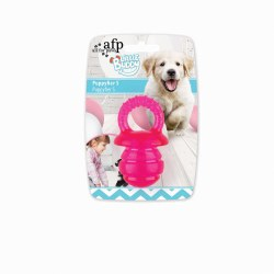All For Paws Little Buddy Puppy Pacifer Pink Large Dog Toy