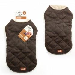 Lamb Wool Jacket Brown Large