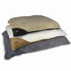 All For Paws Lambswool Pillow Large Bed Brown