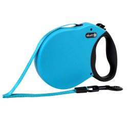 Alcott Adventure Retractable Leash Large Blue Upto 110lb