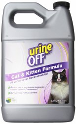 Urine Off For Cats And Kittens Stain And Odor Remover 1 Gallon