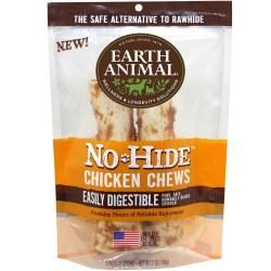 Earth Animal No Hide 7 Inch 2 Pack Chicken Chews