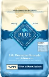 Blue Buffalo Life Protection Formula Puppy Chicken and Brown Rice Recipe Dry Dog Food 15lb