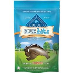 Blue Buffalo Blue Bits Tempting Turkey Recipe Soft Moist Training Dog Treats 4oz