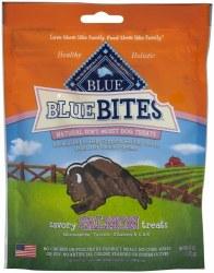 Blue Buffalo Blue Bites Savory Salmon Soft Moist Dog Treats 6oz
