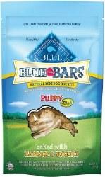 Blue Buffalo Blue Mini Bars Puppy Banana and Yogurt Natural Biscuits Dog Treats 8oz