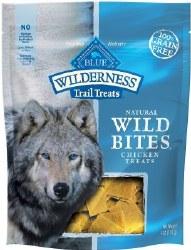 Blue Buffalo Wilderness Trail Treats Chicken Wild Bites Grain Free Dog Treats 4oz