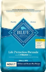 Blue Buffalo Life Protection Formula Small Bite Adult Chicken & Brown Rice Recipe Dry Dog Food 15lb