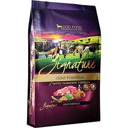 Zignature Goat Limited Ingredient Formula Grain Free Dry Dog Food 4lb