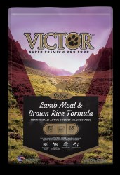 Victor Select Lamb Meal and Brown Rice Dry Dog Food 5lb
