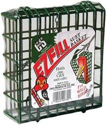 EZ Fill Green Suet Basket
