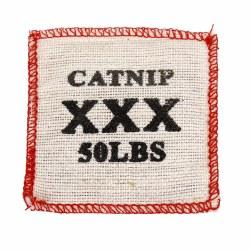 Burlap Sack With Catnip