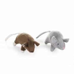 Krislin 2pc Lg Mice W/Catnip