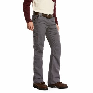 10027709 ARIAT FR M5 SLIM STRETCH DURALIGHT CANVAS STACAKABLE STRAIGHT LEG PANT