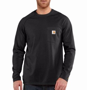 100393 Force Cotton Delmont Long-Sleeve T-Shirt