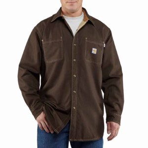 100432 Flame Resistant Canvas Shirt Jacket