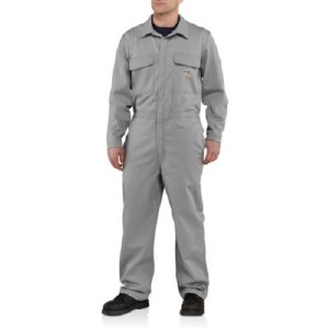 101017 Flame Resistant Traditional Twill Coverall