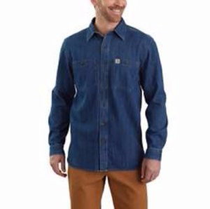 104145 Denim Long-Sleeve Shirt