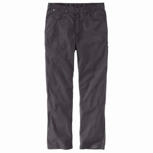 104204 Flame-Resistant Rugged Flex Relaxed Fit Canvas Work Pant