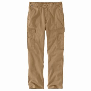 104205 Flame-Resistant Rugged Flex Relaxed Fit Canvas Cargo Pant