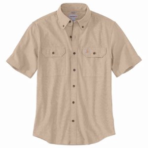 104369 Original Fit Midweight Short-Sleeve Button-Front Shirt