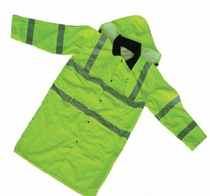 006008 Forester Hi-Vis Extra Long Rain Slicker