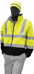 75-1371 Hi Vis Yellow Soft Shell Jacket