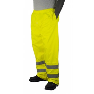75-2351 Hi-Vis Yellow M High Visibility Rain Trouser