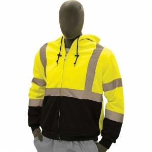 75-5331 Hi- Vis Zip Up Sweatshirt made with Teflon