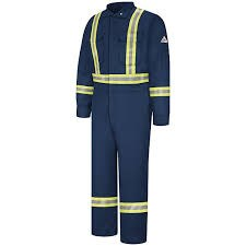 CLBC Navy 38 Flame Resistant Premium Coverall