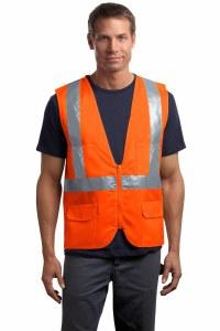 CSV405 Class 2 Mesh Back Safety Vest