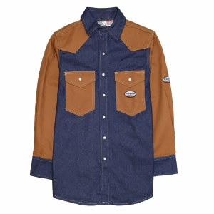 FR1122 FR Two Tone Work Shirt