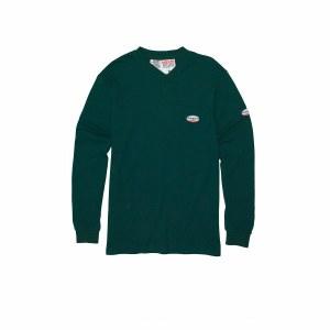 FR0101 Green FR Henley T-Shirt