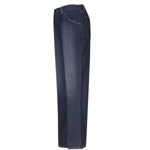 PEJW Flame Resistant Womens Straight Fit Sanded Denim Jean