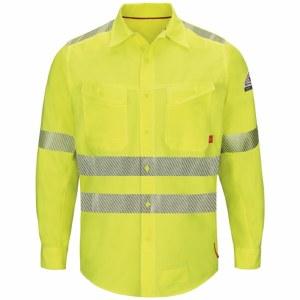 QS40HV Endurance Hi-Vis Work Shirt