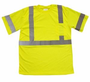 RMT001 Hi Vis Class 3 Safety T-shirt